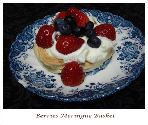 meringue basket