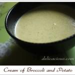 Cream of Broccoli and Potato