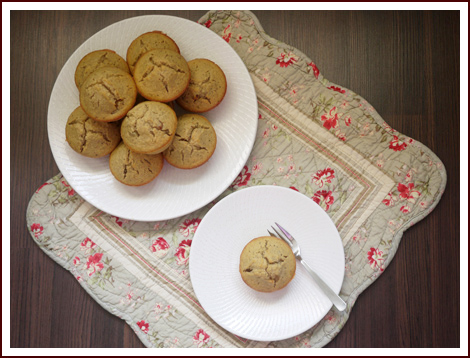 oatmeal muffins 1