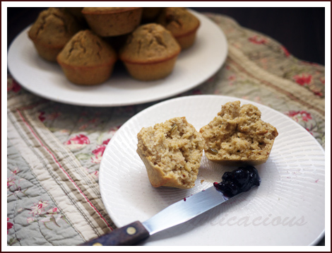 oatmeal muffins 2