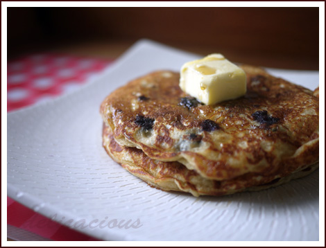 wholewheat pancakes