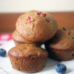 whole wheat honey berry muffins | Delicacious