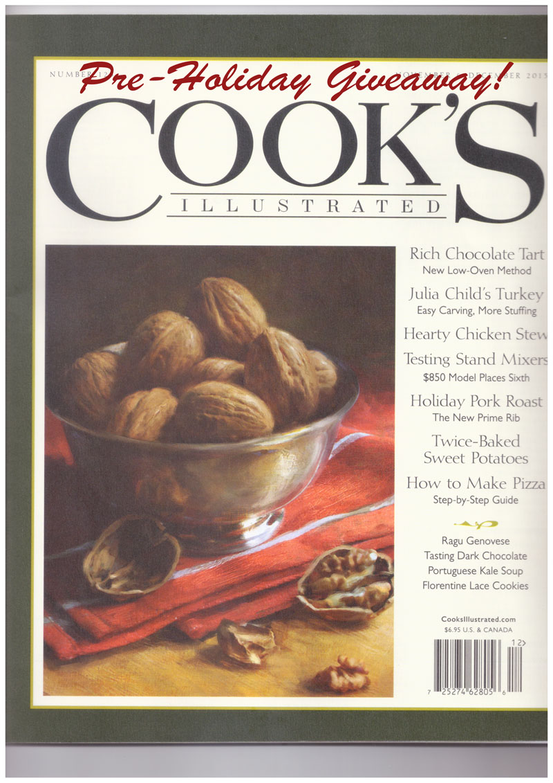 cooks illustrated giveaway