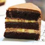Chocolate Banana Layered Cake