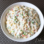 roasted corn and peppers dip