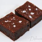 Very Chocolatey Salted Brownies