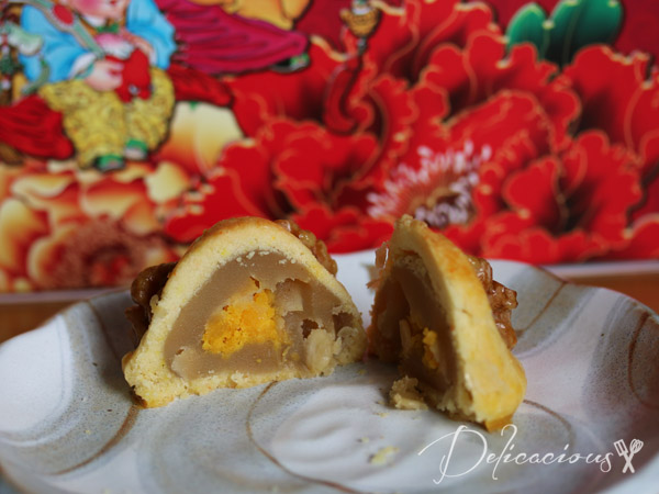 Walnut mooncakes